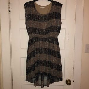 NWOT Double Zero high low dress
